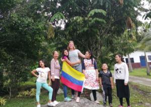 """Henriette im Projekt """"Fundación de la Santa Cruz"""" (2018/2019)"""
