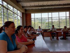 Versammlung in der Schule